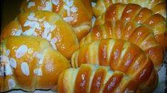 Λαχταριστά σιροπιαστά κρουασάν γεμιστά με μερέντα που θα λατρέψουν μικροί και μεγάλοι! Πολύ εύκολα στο να τα φτιάξετε και ακόμα πιο εύκολα στο να τα κάνετε Pretzel Bites, Food For Thought, Baked Potato, French Toast, Potatoes, Pudding, Sweets, Bread, Baking