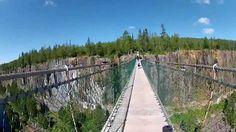 Ride to Eagle Canyon. Canada's Longest Suspension Foot Bridge. Kawasaki ...