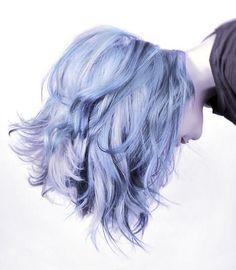 Mermaid Hair Color for Short Hair - Hair Style Color Fantasia, Coloured Hair, Colored Short Hair, Short Blue Hair, Short Colorful Hair, Curly Short, Dye My Hair, Crazy Hair, Rainbow Hair