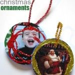 Recycled Lid Ornaments! BRILLIANT IM TOTALLY DOING THIS!