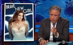The Stir-Jon Stewart Nails the Biggest Problem About Caitlyn Jenner's Transition (VIDEO)