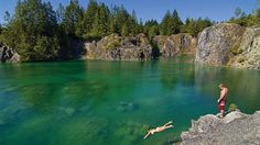 Hit the Road: Funky Family Road Trips From Seattle - ParentMap Best Swimming, Swimming Holes, Quarry Lake, Things To Do Seattle, Sunshine Coast Bc, Powell River, Seattle Area, Family Road Trips, Vancouver Island