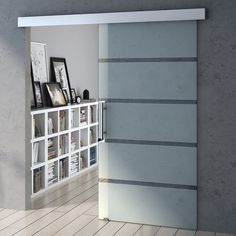 Durovin Safety Glass Sliding Door Internal Room Partition Frosted Sections Internal Doors Modern, Internal Sliding Doors, Modern Sliding Doors, Modern Door, Modern Barn, Sliding Glass Doors, Porte Diy, Sliding Door Design, Frosted Glass Door