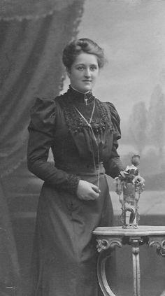 1913  Junge Frau in Stettin  Polen,  Szczecin