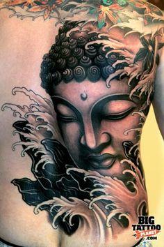 Barcelona Tattoo Expo 2010 - Black and Grey Tattoo   Big Tattoo Planet