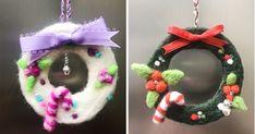26Peças dedecoração natalina chiques esuper fáceis demontar Crochet Earrings, Christmas Ornaments, Holiday Decor, Christmas Charts, Snowman, Holiday Decorating, Wreaths, Decorating Tips, Xmas