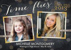 Flying Timelessly: Flint Graduation Announcements