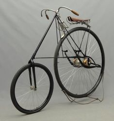 1880 Pneumatic Star bicycle produced by the HG Smith Machine Co, Smithville NJ Vintage Bicycle Parts, Velo Vintage, Old Bicycle, Vintage Cycles, Old Bikes, Vintage Bikes, Vintage Motorcycles, Retro Bikes, Antique Bicycles