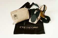 Foldable ballet pumps (Royal Ballet Collection) by Cocorose London... <3 <3 <3