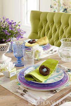 Elegant Spring Breakfast | Traditional Home