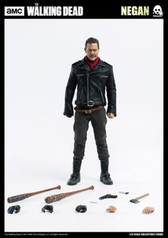 Three Zero The Walking Dead Figürchen Rick Grimes 30 cm