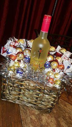 Girlfriend gift basket idea