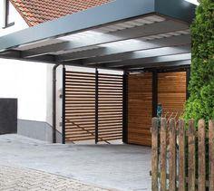 Siebau carport with garage door Garage & Carport