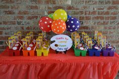 Art/Painting Birthday Party Ideas | Photo 22 of 48 | Catch My Party