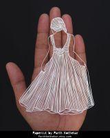 Miniature Papercut - Papercutting - Paper art by ParthKothekar