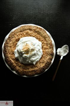 Pumpkin Coconut Cream Pie by Heather Christo