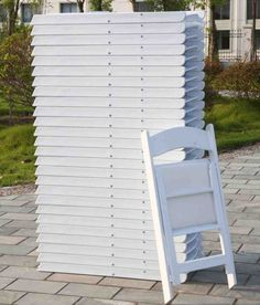 Wedding Folding Chairs - Home Furniture Design Table Furniture, Furniture Design, Outdoor Furniture, Folding Camping Chairs, Folding Chairs, White Desk Chair, Tommy Bahama Beach Chair, Green Desk, Outdoor Chairs