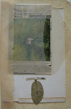 A leaf by susan gilman jokelson, via Flickr