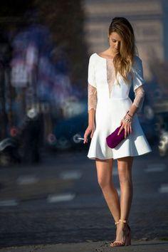 """Robe de mariée courte: la collection """"La petite robe"""" de Rime Arodaky"""