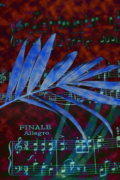 Music In Colour, Abstract, photographic print, In Stock.