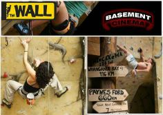 The Climbing Wall and Basement Cinema - stay at Rock Solid Backpackers and climb for ONLY $12 (all gear included) or do a Climb and Movie for $20!! #backpackers #climbingwall #rotorua #rocksolid Climbing Wall, Backpacking, Basement, Cinema, Movie, Rock, Backpacker, Root Cellar, Movies