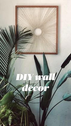 Diy Crafts For Home Decor, Diy Room Decor, Diy Wall Decorations, Diy Wall Decor For Bathroom, Living Room Wall Decor Diy, Wall Art For Bedroom, Decor Ideas, Bedroom Chair, Handmade Home Decor
