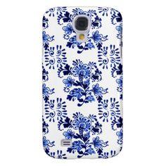 Delfts Blauw Samsung Galaxy S4 Hoesjes, Delfts Blauw Samsung Galaxy S 4 Covers