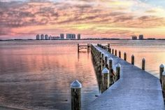 Dockside In Navarre by JC Findley