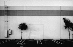 Lewis Baltz - from the New Topographic movement South Wall, Semicoa, 333 McCormick, Costa Mesa 1974