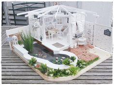 Cool gazebo fairy house