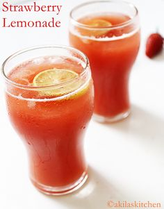 Learning-to-cook: Strawberry Lemonade | Summer Special Drinks
