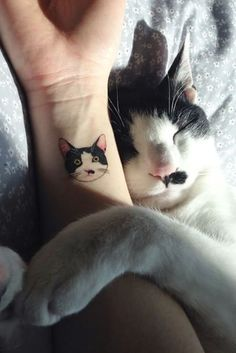 These Cat Tattoos Are The Perfect Way To Honor Your Four-Legged Friend