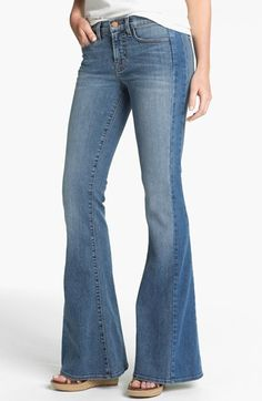 J Brand 'Chrissy' Flare Leg Jeans (Bliss) available at #Nordstrom