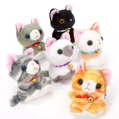 558ff88fd0e Chokonto Nyan Nyan Plush Mascots 1 Crazy Cat Lady