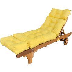Yellow Chaise Lounge Cushions