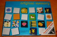 Original Memory Ravensburger 1959 EAMES - alle 126 Karten dabei