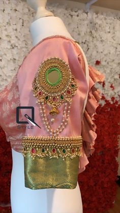 Wedding Saree Blouse Designs, Best Blouse Designs, Pattu Saree Blouse Designs, Simple Blouse Designs, Stylish Blouse Design, Mirror Work Blouse Design, Sleeves Designs For Dresses, Baby Fruit, Aari Embroidery