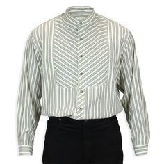 Cornelius Shirt - Gray Stripe