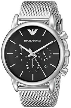 20c35aa2489c Emporio Armani Mens AR1811 Dress Silver Watch     Read more reviews of the  product