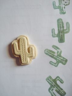 Seguimos con los sellos. Handmade rubber stamps