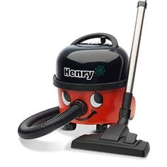 NUMATIC HVR200-11 Henry Vacuum Cleaner, Bagged, 620 W - Red/Black: Amazon.co.uk: Kitchen & Home
