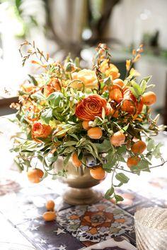 floral centerpiece | Matthew Robbins Design