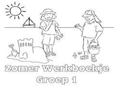 Zomer Werkboekje Groep 1