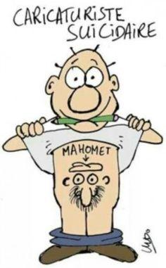 caricaturiste suicidaire