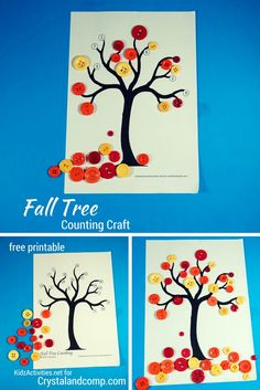 It's that time of the year when activities for kids are all about leaves & trees, yellows, reds & oranges - all reflective of the FALL season. So today, I am visiting from Kidz Activities t...
