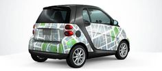 Smart Car with Map Wrap