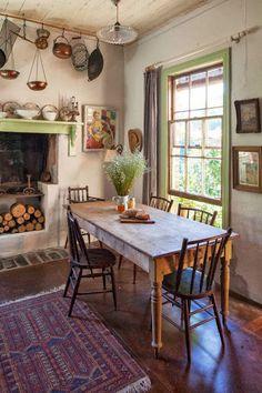 DESDE MY VENTANA- Una cocina rural llena de encanto.