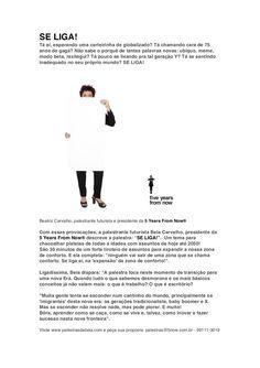 Palestra SE LIGA! - release by Beia Carvalho via slideshare