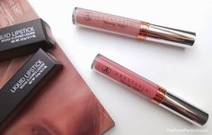 Anastasia Beverly Hills liquid lipsticks in Pure Hollywood and Lovely.