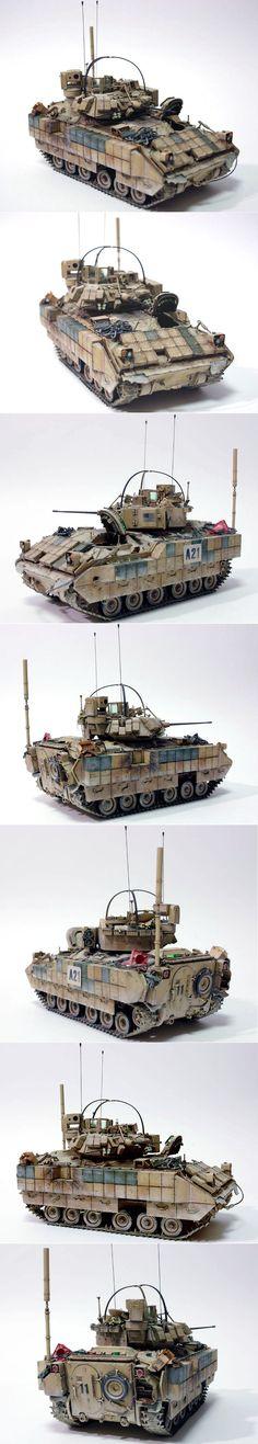 M2A2 Bradley IFV Explosive Reactive Armor (ERA) 1:35